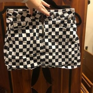 Checkered skirt by Urban Outfitters